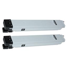 Logic-Seek 2 Toner kompatibel zu Samsung CLX-9201 K809 CLT-K809S/ELS HC Schwarz