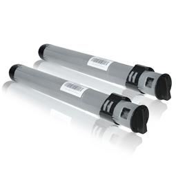 Logic-Seek 2 Toner kompatibel zu Epson C8500 S050038 C13S050038 HC Schwarz
