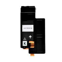 Logic-Seek  Toner kompatibel zu Epson C1700 0614 C13S050614 HC Schwarz
