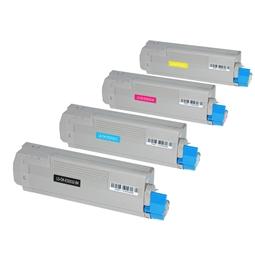 Logic-Seek 4 Toner kompatibel zu OKI ES2032 HC