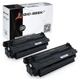 Logic-Seek 2 Toner kompatibel zu HP 508X CF360X HC Schwarz
