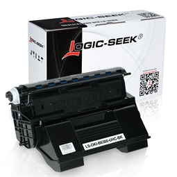 Logic-Seek  Toner kompatibel zu OKI B6300 XL 9004079 HC Schwarz