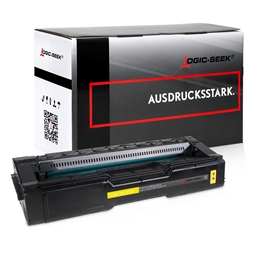 Logic-Seek  Toner kompatibel zu Ricoh Aficio SPC 252 XL 407719 HC Yellow