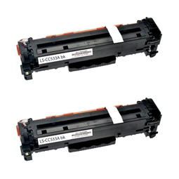 Logic-Seek 2 Toner kompatibel zu Canon Cartridge 718BK 2662B002 HC Schwarz