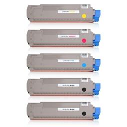 Logic-Seek 5 Toner kompatibel zu OKI C841 HC