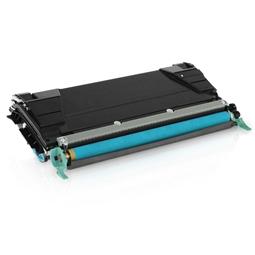 Logic-Seek  Toner kompatibel zu Lexmark X748 XL X748H2CG UHC Cyan