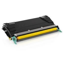 Logic-Seek  Toner kompatibel zu Lexmark X748 XL X748H2YG UHC Yellow