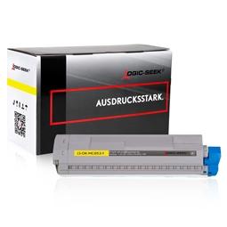 Logic-Seek  Toner kompatibel zu OKI MC853 45862837 HC Yellow