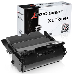 Logic-Seek  Toner kompatibel zu Lexmark Optra X644 X644H21E HC Schwarz