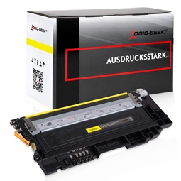 Logic-Seek  Toner kompatibel zu Samsung C430 Y404S CLT-Y404S/ELS HC Yellow