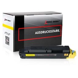 Logic-Seek  Toner kompatibel zu Kyocera TK-5140Y 1T02NRANL0 HC Yellow