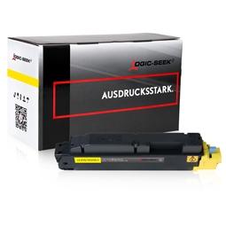Logic-Seek  Toner kompatibel zu Kyocera TK-5150Y 1T02NSANL0 HC Yellow