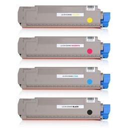 Logic-Seek 4 Toner kompatibel zu OKI ES8460 HC