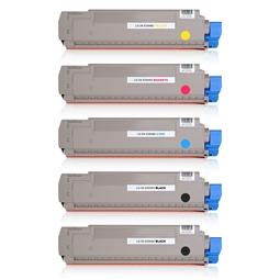 Logic-Seek 5 Toner kompatibel zu OKI ES8460 HC