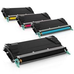 Logic-Seek 4 Toner kompatibel zu Lexmark X746 X748 XL UHC
