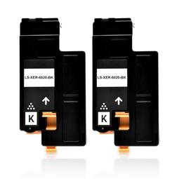 Logic-Seek 2 Toner kompatibel zu Xerox Phaser 6020 106R02759 HC Schwarz