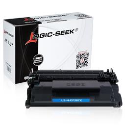 Logic-Seek  Toner kompatibel zu HP 87X CF287X HC Schwarz