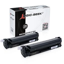 Logic-Seek 2 Toner kompatibel zu HP 410X CF410X XL Schwarz