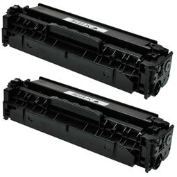 Logic-Seek 2 Toner kompatibel zu HP 312A CF380A HC Schwarz