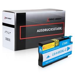 Logic-Seek  Tintenpatrone kompatibel zu HP 953XL F6U16AE XL Cyan