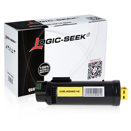 Logic-Seek  Toner kompatibel zu Dell H625 3P7C4 593-BBSE HC Yellow