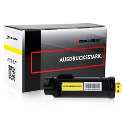 Logic-Seek  Toner kompatibel zu Dell H625 1MD5G 593-BBRW UHC Yellow