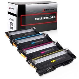 Logic-Seek 4 Toner kompatibel zu Samsung C430 C480 HC