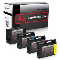 Logic-Seek 4 Tintenpatronen kompatibel zu HP 932 933 XL
