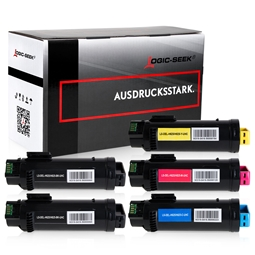 Logic-Seek 5 Toner kompatibel zu Dell H625 UHC