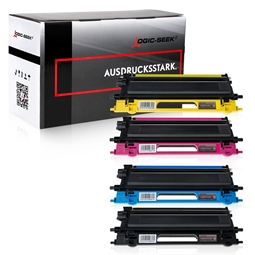 Logic-Seek 4 Toner kompatibel zu Brother TN-130