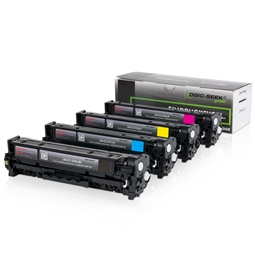 Logic-Seek Green 4 Toner kompatibel zu HP CC530A-CC533A HC