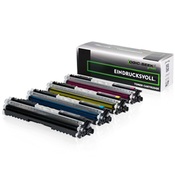 Logic-Seek Green 4 Toner kompatibel zu HP CE310A-CE313A HC