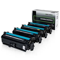Logic-Seek Green 4 Toner kompatibel zu HP CE250X-CE253A HC