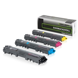 Logic-Seek Green 4 Toner kompatibel zu Brother TN-242 TN-246 HC