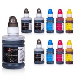Logic-Seek 10 Tintenpatronen kompatibel zu Canon GI490/GI590 XL