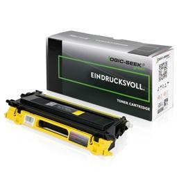 Logic-Seek Green Toner kompatibel zu Brother TN-135Y HC Yellow