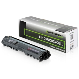Logic-Seek Green Toner kompatibel zu Brother TN-242BK HC Schwarz