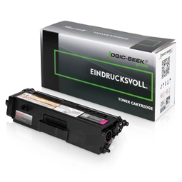 Logic-Seek Green Toner kompatibel zu Brother TN-326M HC Magenta