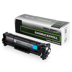 Logic-Seek Green Toner kompatibel zu HP 304A CC531A HC Cyan