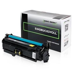 Logic-Seek Green Toner kompatibel zu HP 504A CE252A HC Yellow
