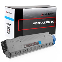 Logic-Seek  Toner kompatibel zu OKI ES8451 44059259 HC Cyan