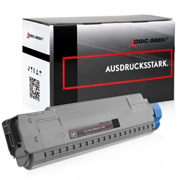 Logic-Seek  Toner kompatibel zu OKI ES8451 44059260 HC Schwarz