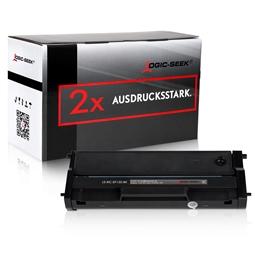 Logic-Seek 2 Toner kompatibel zu Ricoh SP150 TYPE150HC 408010 HC Schwarz