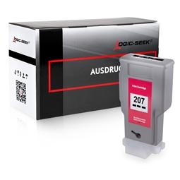 Logic-Seek  Tintenpatrone kompatibel zu Canon PFI-207BK 8789B001 XL Schwarz