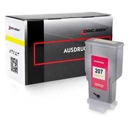 Logic-Seek  Tintenpatrone kompatibel zu Canon PFI-207Y 8792B001 XL Yellow