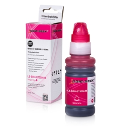 Logic-Seek  Tintenpatrone kompatibel zu Brother BT5000M XL Magenta