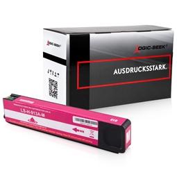 Logic-Seek  Tintenpatrone kompatibel zu HP 913A F6T78AE XL Magenta