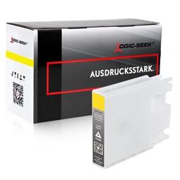 Logic-Seek  Tintenpatrone kompatibel zu Epson T9074 C13T907440 Yellow