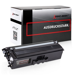 Logic-Seek  Toner kompatibel zu Brother TN-910BK HC Schwarz