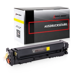 Logic-Seek  Toner kompatibel zu HP 203A CF542A HC Yellow